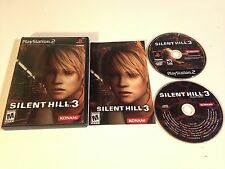 Silent Hill 3 ps2 CIB great condition FREE Shipping  !!!