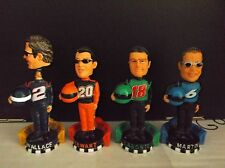 "Nascar Forever Collectibles 3"" Bobble Heads, Wallace, Stewart,Labonte & Martin"