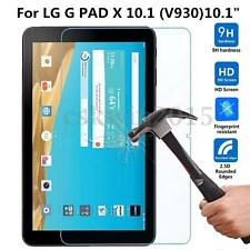 "9H+ Tempered Glass Film Screen Protector Cover For LG G PAD X V930 10.1"" Tablet"