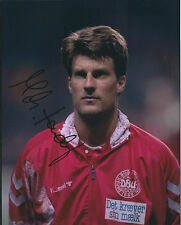 Michael LAUDRUP Autograph 10x8 Photo AFTAL COA Denmark National Team