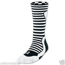 NIKE Air Jordan Retro Inspired Crew Socks sz M Medium (6-8) Black White AJ 23