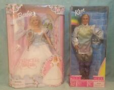 Princess Bride Barbie & Rainbow Prince Ken Doll Set