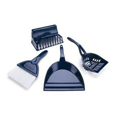 LITTER BUDDY SET 4 IN 1  SCOOP, DUSTPAN, BRUSH & CADDY  CAC 11