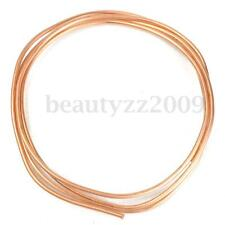 2M Copper Tube Coil Refrigeration AC 4mm OD x 3mm ID For Hardware Machinery