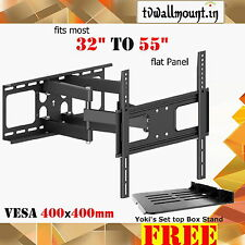 "Imported LCD / LED TV Wall Mount Bracket Corner Swivel 32""37"" 42"" 46"" 55"" P STB"