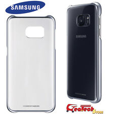 Custodia CLEAR COVER Originale Samsung Per Galaxy S7 G930F Case Trasparente NERA