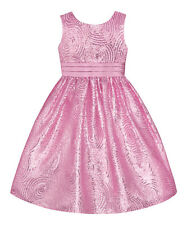 American Princess Ice Pink Girl Plus Size 14.5 Sequin Party Dress NEW GORGEOUS!!