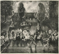 George Bellows Reproductions: Tennis - Fine Art Print