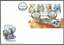 GUINEA BISSAU  2014 450th MEMORIAL ANNIVERSARY OF  WILLIAM SHAKESPEARE SHEET FDC