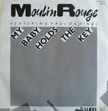 "7"" 1983 MINT-! MOULIN ROUGE (= PAUL DA VINCI / RUBETTES ) My Baby Holds The Key"