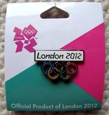 OLYMPICS LONDON 2012 OLYMPIC RINGS COLLECTIBLE PIN -NEW! MINT
