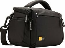 Case Logic TBC-405 Compact System/Hybrid/Camcorder Kit Bag (Black)  Brand New