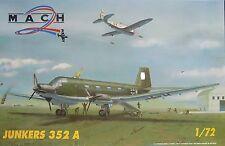 Junkers Ju-352 A Herkules , Luftwaffe Transportflugzeug, 1:72, Mach 2, Rarität