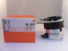 Ford Focus Mk2 1.6 TDCI Fuel Filter 2005-2012 OPT1 *GENUINE MAHLE OE KL569*