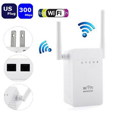 Wifi Signal Repeater Booster Wireless-N Range Extender Network 300Mbps Router