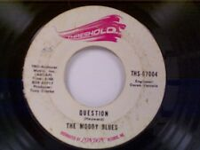 "MOODY BLUES ""QUESTION / CANDLE OF LIFE"" 45"