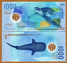 Maldives, 1000 Rufiyaa, 2015 (2016), Polymer UNC   New Design