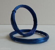 0.6 mm (22 gauge) ROYAL / MID BLUE CRAFT/JEWELLRY WIRE 10 metres