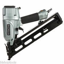"Hitachi NT65MA4 15Gauge 2-1/2"" Angled Finish Nailer Gun with Air Duster NEW Tool"