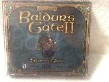PC game Baldur's Gate II Shadow of AMN  4 discs