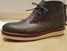 All saints mens chucka desert boots UK 7 eu 41 grey leather shoes trainers