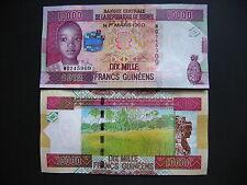 GUINEA  10000 Francs 2012  (P46)  UNC