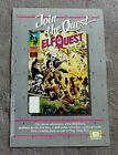 ELFQUEST #1 Comic 1985 Wendy Richard Pini PROMO WaRP Epic Marvel Poster VGFN