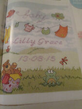 """Breezy Baby Bliss'S JENNY Barton cross stitch chart (solo)"