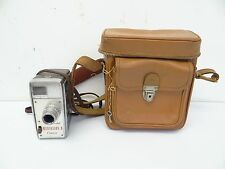 Vintage Used Working Cine-Kodak Medallion 8 8mm Home Movie Film Camera w/ Case
