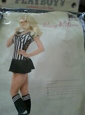 PLAYBOY Halloween Costume (Racy Referee) Size: Medium BRAND NEW