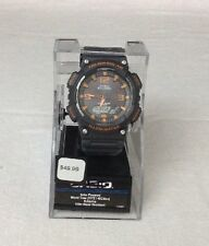 Casio Mens AQS810W-8AOS Tough Solar Movement Charcoal Gray Watch Water Resistant