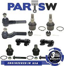 8 Pc Steering & Suspension Kit for E-250 E-350 E-450 Upper & Lower Ball Joints
