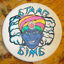 Sims STAAB Vintage Skate Skateboard Sticker 100% Original