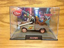 Tow Truck Mater with HEADSET Die-Cast CARS 2 Pixar Disney Store EXCLUSIVE