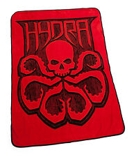"MARVEL Agents of SHIELD Licensed LG 60"" Official HYDRA Icon Logo Fleece BLANKET"
