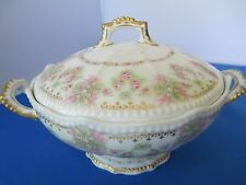 Limoges, France - Wanamaker Covered Vegetable Bowl, Unknown Pattern