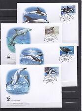 Australia 2009 - FDC - Vissen/Fish/Fische (Dolfijnen / Dolphins)  -  WWF