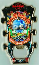 Hard Rock Cafe Singapore Guitar Head City Bottle Opener Magnet