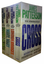 JAMES PATTERSON ___ 4 BOOK SET ___ ALEX CROSS SERIES __ BRAND NEW __ FREEPOST UK