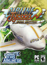 AIRLINE TYCOON 2 *** GOLD EDITION *** PC GAME (Brand New & Sealed)