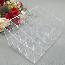 Quality Clear 24 Makeup Lipstick Cosmetic Storage Display Holder Organizer AT