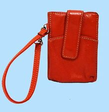 GIANI BERNINI Red Leather Wallet Organizer Msrp $88.00  *FREE SHIPPING SERVICE