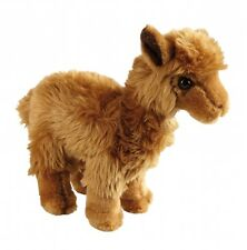 Ravensden Suma Realistic Alpaca Brown Plush Soft Toy 24cm FRS055