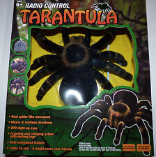 New RC Tarantula Radio Control Spider Remote Control Scary Bug Halloween Prop