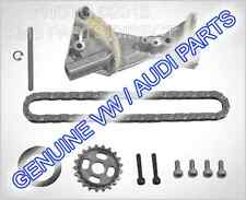 Genuine Parts VAG Audi A4 VW PASSAT 2.0 TDI pompa olio catena & Seal Kit Riparazione