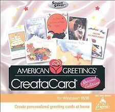 NEW American Greetings CreataCard: Special Edition Smart Saver Series (PC, 1999)