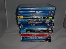 Disney Dvd Blu Ray Lot Of 15 Walt Disney Up Aladdin Finding Nemo Buddies G Force