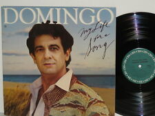 PLACIDO DOMINGO My Life For A Song LP Besame Mucho Follow Me There Will Be Love
