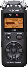 TASCAM DR-05 Solid State Recorder Potable Hanheld Stereo Recorder New DR05