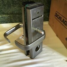 Vingcard 2100 Lock Used Front and Rear Cover Nickel Silver